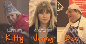 Sainsburys Christmas TV advert stars
