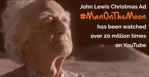 John Lewis Man on the Moon Christmas advert